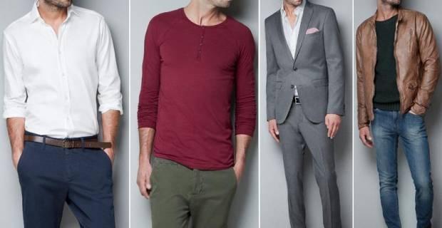 Ropa masculina - Colores para combinar ...