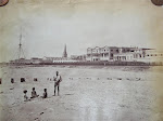 Madras+(Chennai)+Cityscape,+Fort+St.+George+in+Background+-+c1865