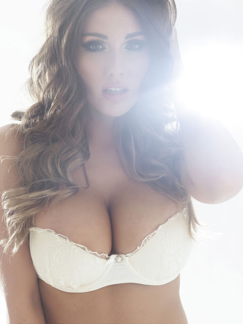 Lucy Pinder - Uncovered Topless/ Naked Outtakes Nuts (November 2012)