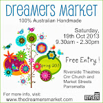 Proud Partner of The Dreamers Markets -  A 100% Australian Handmade Market