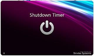 تحميل برنامج Shutdown Timer مجانا لغلق الكمبيوتر تلقائيا