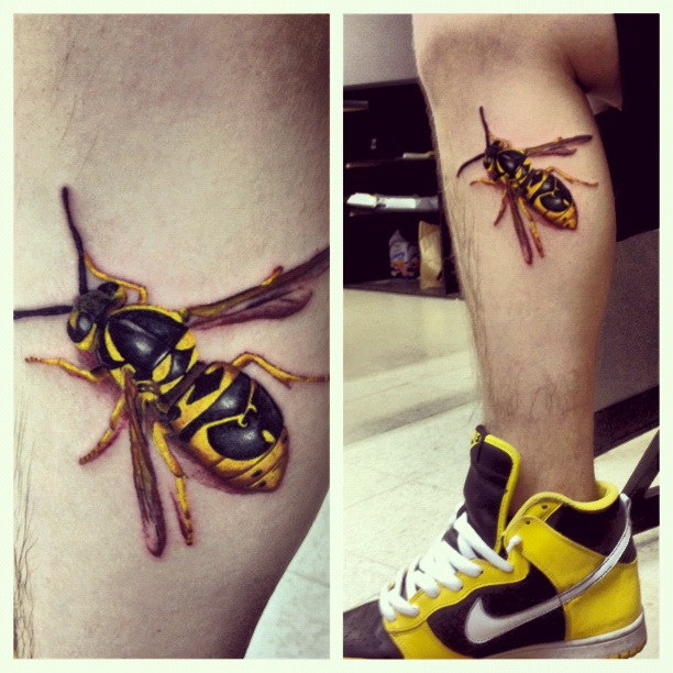 Method man killer bee tattoo - photo#14
