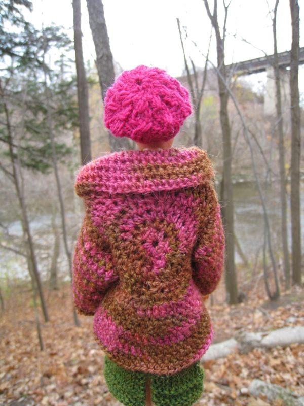 Best Barbie Knits: FREE Barbie Crochet Jacket Pattern