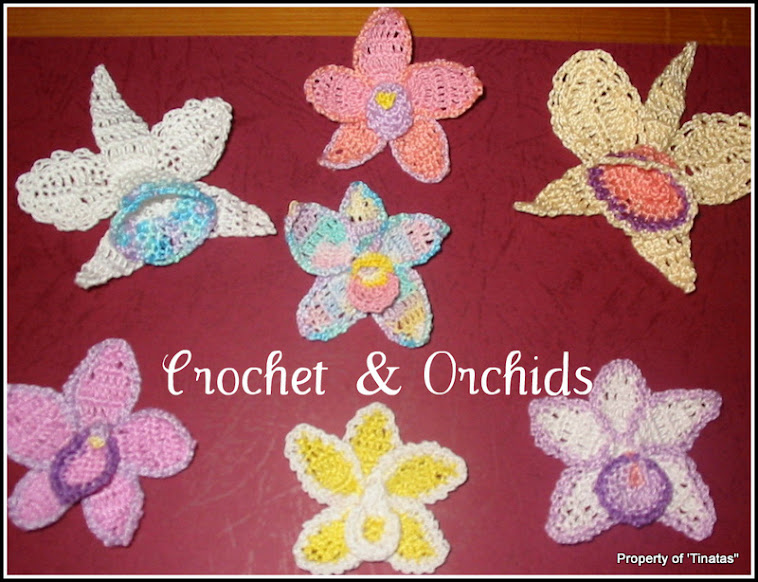 Crochet and Orchids