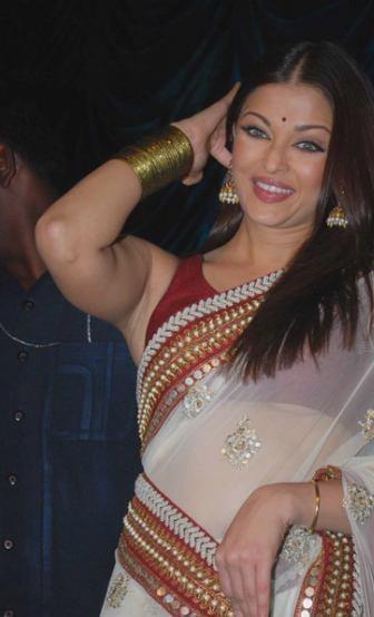 Aishwarya Rai wardrobe malfunction, Aishwarya Rai in saree, Aishwarya Rai in transparent saree