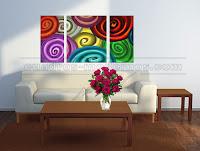 Decoraci n de paredes vinilos decorativos cuadros for Cuadros decorativos baratos precio