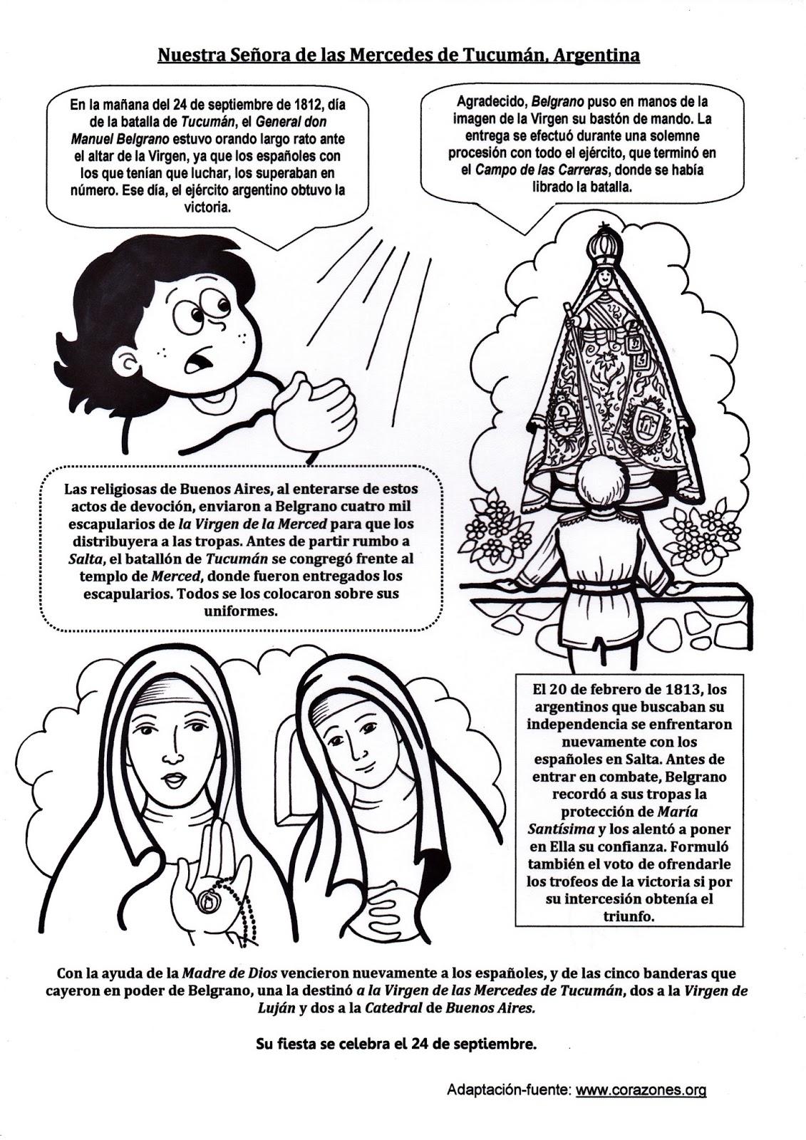 El Rincón de las Melli: Nuestra Señora de las Mercedes de Tucumán ...