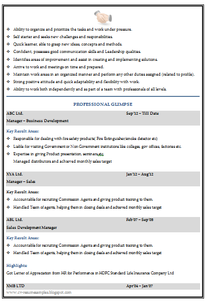 free downlaod link for graduate resume template for sales marketing