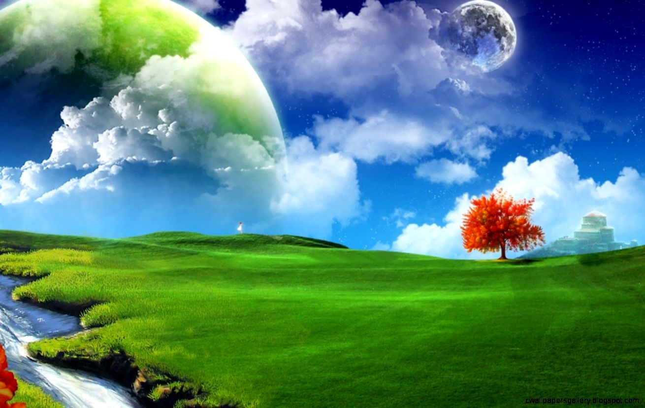 3D Desktop Nature Wallpaper Full HD   Back Wallpapers
