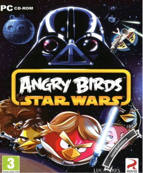 Angry Birds Star Wars Cover, Poster