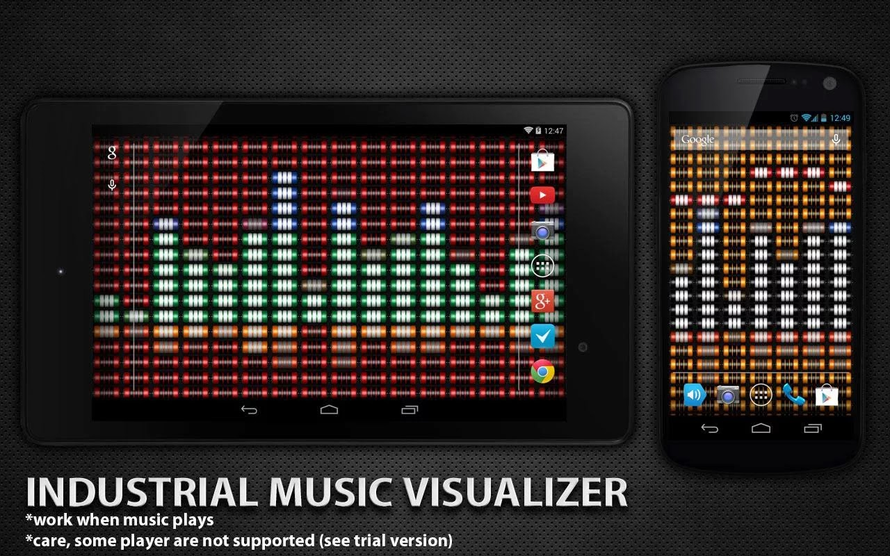 Industrial Music Visualizer v1.1.0