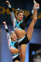 Cheerleaders legs