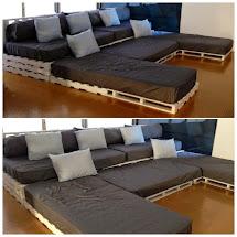 Diy Wood Pallet Couch Design Ideas - Inspiring Interior