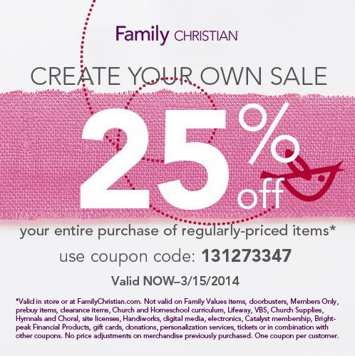 Christian book coupon code