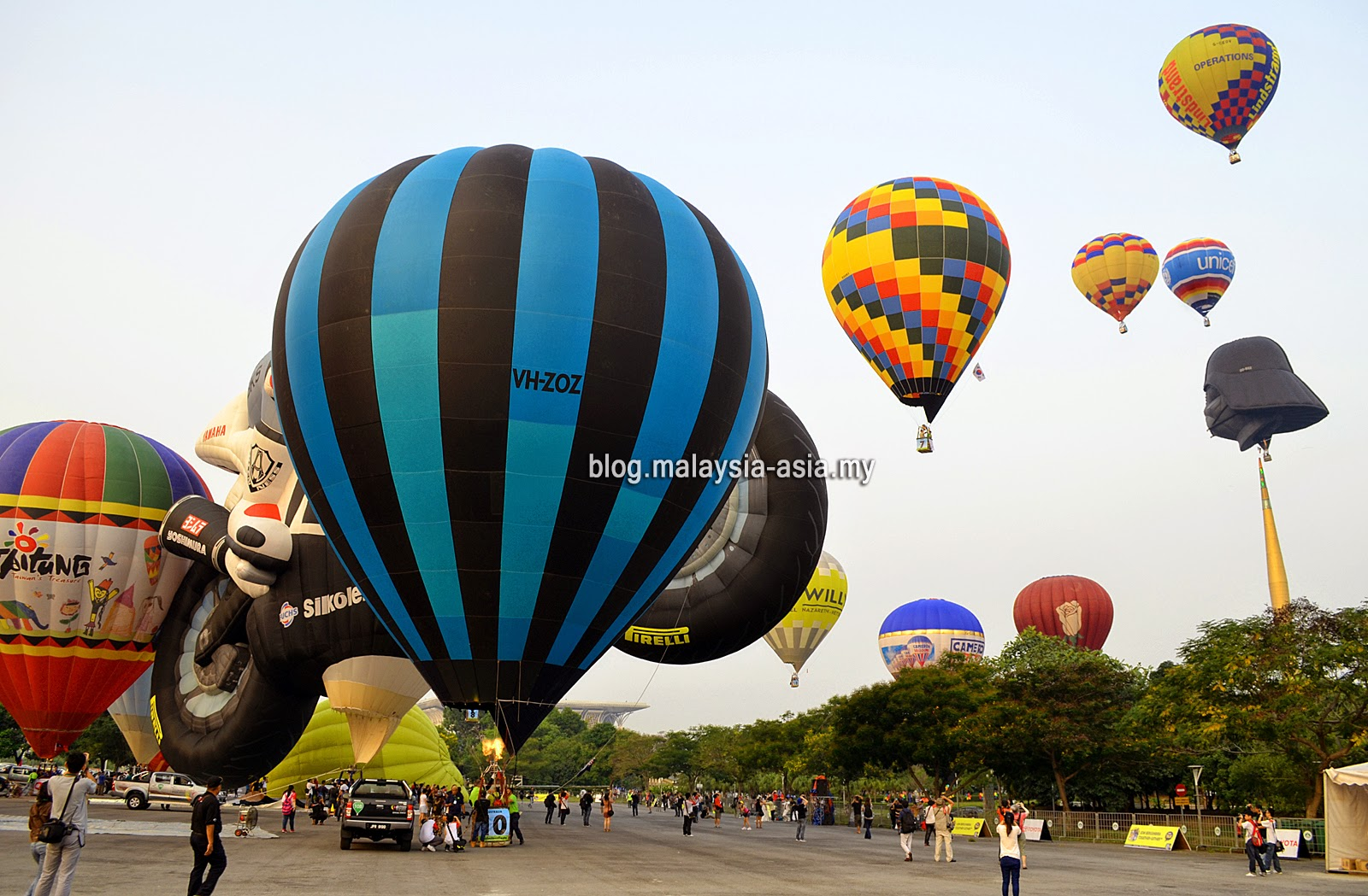 Putrajaya Hot Air Balloon Fiesta Race 2015
