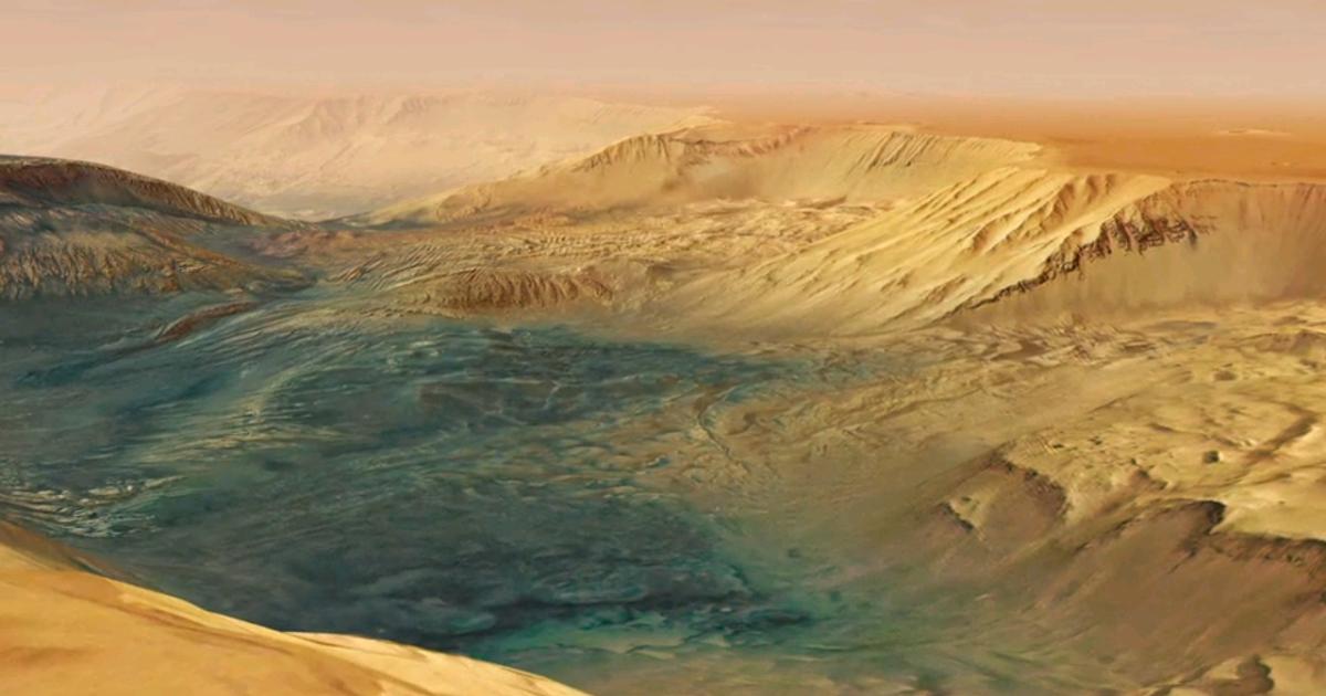Volare nel più grande canyon Marziano, uno stupendo video by ESA Mars Express!