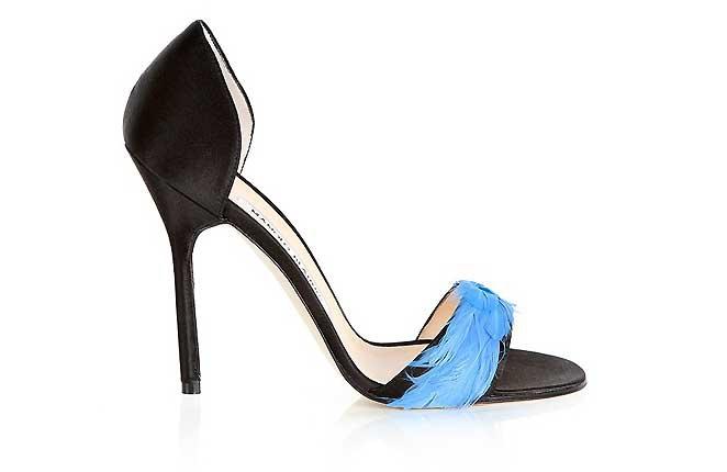 fotos zapatos manolo blahnik - Zapatos especiales para ir como invitada a una boda en 2016