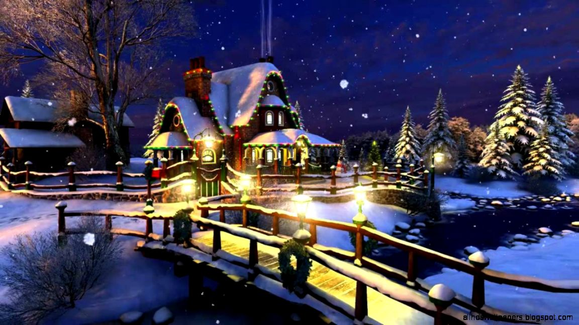 Christmas screensavers animated all hd wallpapers for Screensaver natale 3d