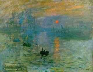 Impressão, nascer do sol, de Claude Monet