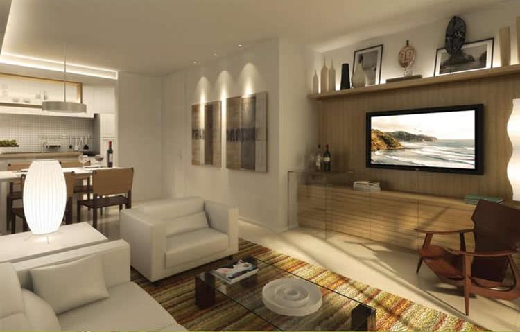 decoracao de interiores salas de apartamentos:sala de estar merece um cuidado especial na hora de ser elaborada.