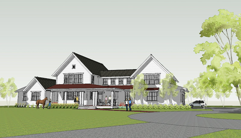 Modern Farmhouse Design Plan