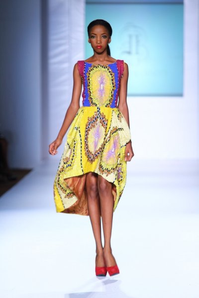 Ankara-dress-kitenge-ciaafrique-pagne-africain-nigerian fashion -MTN lagos fashion and Design week 2012: Iconic invanity