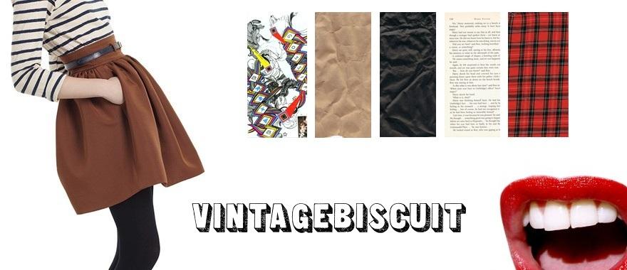 vintage biscuit