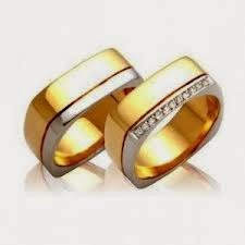 0346aa17413 Confira 145 modelos de alianças para seu casamento Terra - alianças de ouro  diferentes
