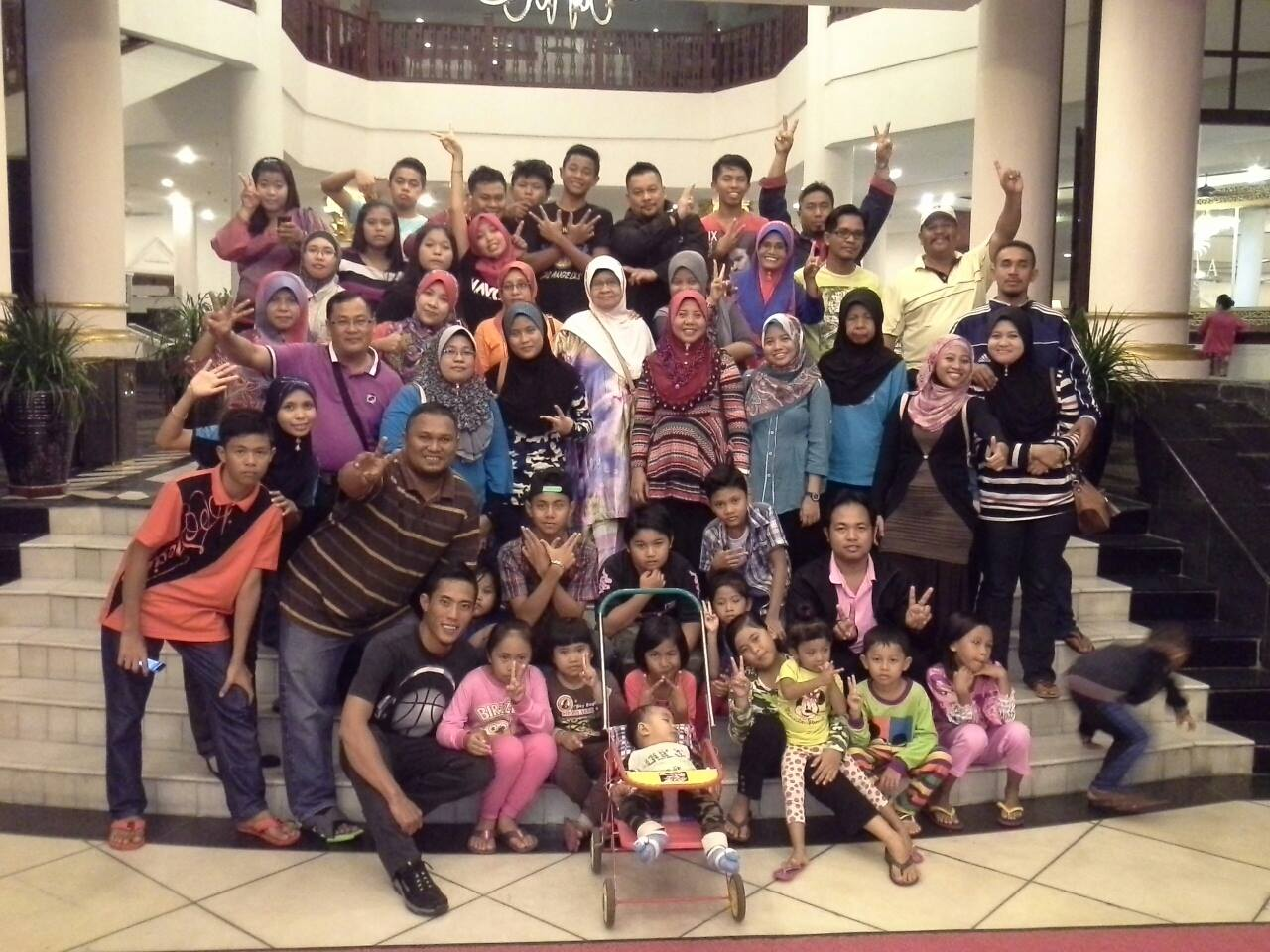 FAMILY DAY PACKAGE : NOR HASZIRUL FAMILY 16-18 SEPT 2014