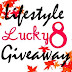 Giveaway Alert: Lucky 8 Lifestyle Giveaway