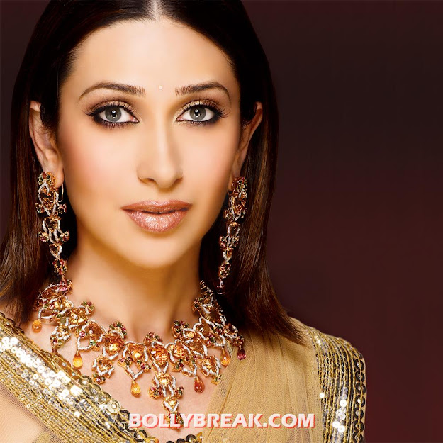 karishma kapoor face close up jewellery hd wallpaper - karishma kapoor Latest Jewellery HD Wallpaper