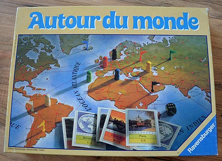 le trou rat autour du monde ravensburger 1983. Black Bedroom Furniture Sets. Home Design Ideas