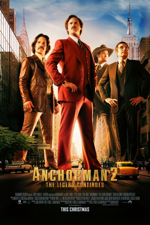 Anchorman 2: The Legend Continues (2013) BluRay