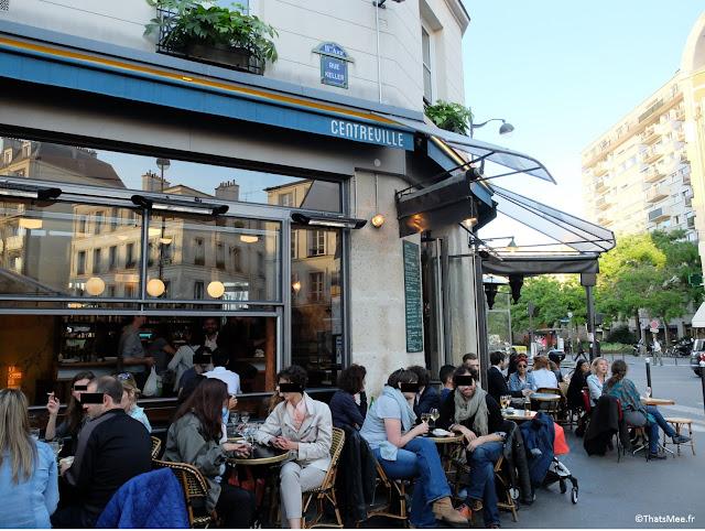 terrasse Cnetrville Charonne Paris 11ème décontractée pas hipster