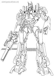Dibujos de Transformers