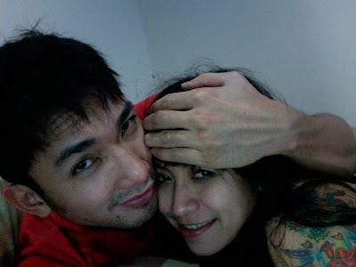 Foto Mesra Penelope dengan Kekasihnya Dika