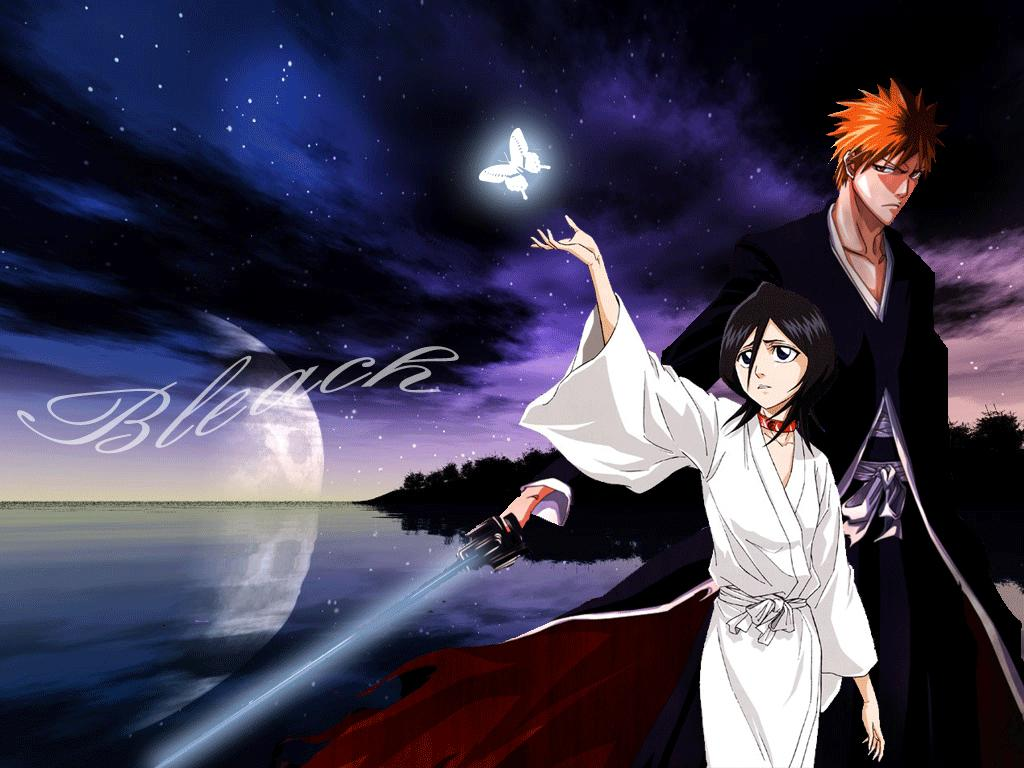 Ichigo And Rukia Bleach Wallpaper 1920x1200