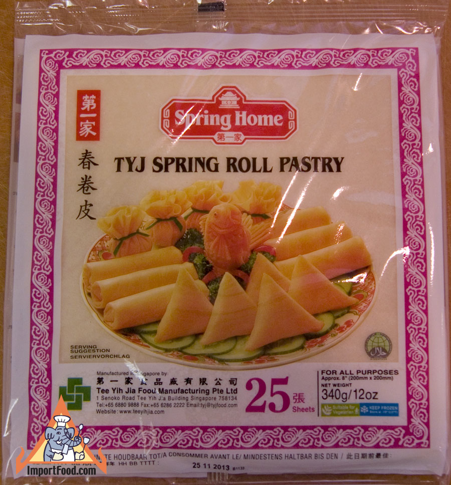 egg roll wrappers