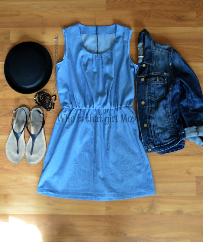 denim dress {whoisthatgirlmo?}