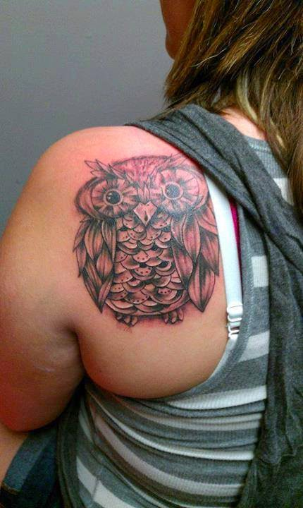 3d Tattoos Ideas On Back #1.