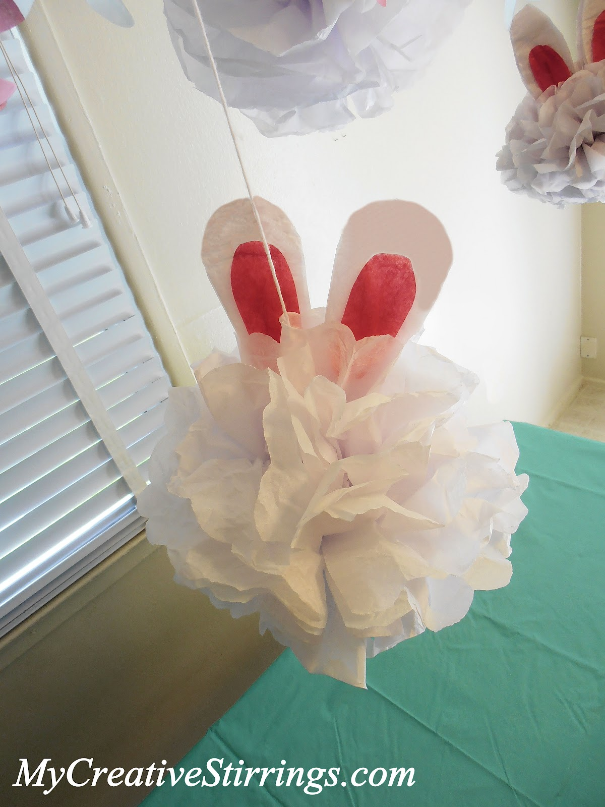 My creative stirrings april 2012 for Creative tissue paper ideas