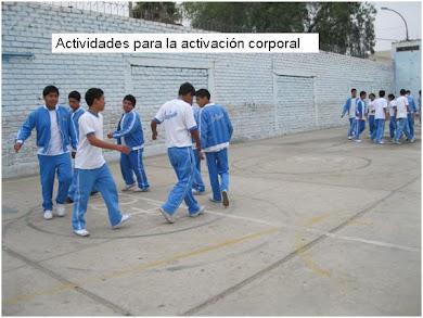 EDUCACIÓN FÍSICA - LICEO - TRUJILLO 2011