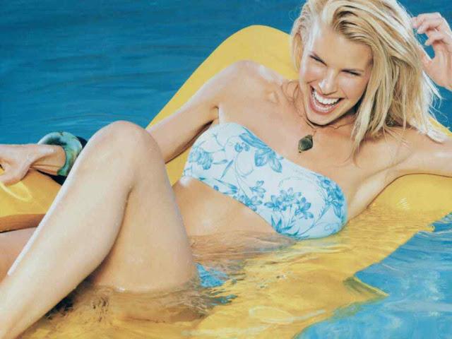 Beth Ostrosky Stern sexy in swimsuit