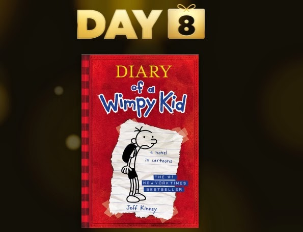 Day 8 of the 12 Days of Gifts event. Today's gift is the iBook: Diary of a Wimpy Kid by Jeff Kinney. Download now for free..