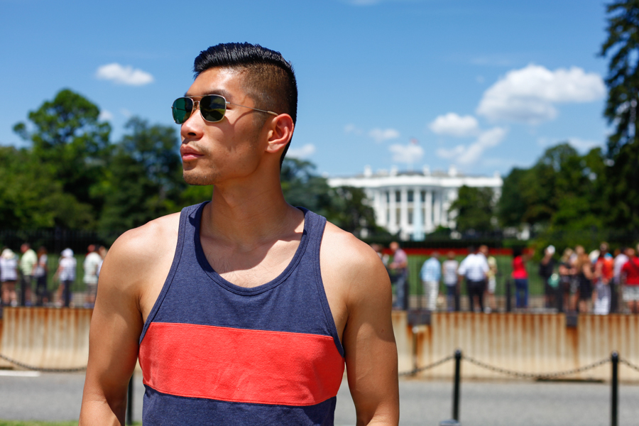 #WhereUNIQLO Levitate Style Washington DC | Summer Style Travel feat. Uniqlo, Timberland Denim Boat Shoes, Daniel Wellington, The White House, Menswear