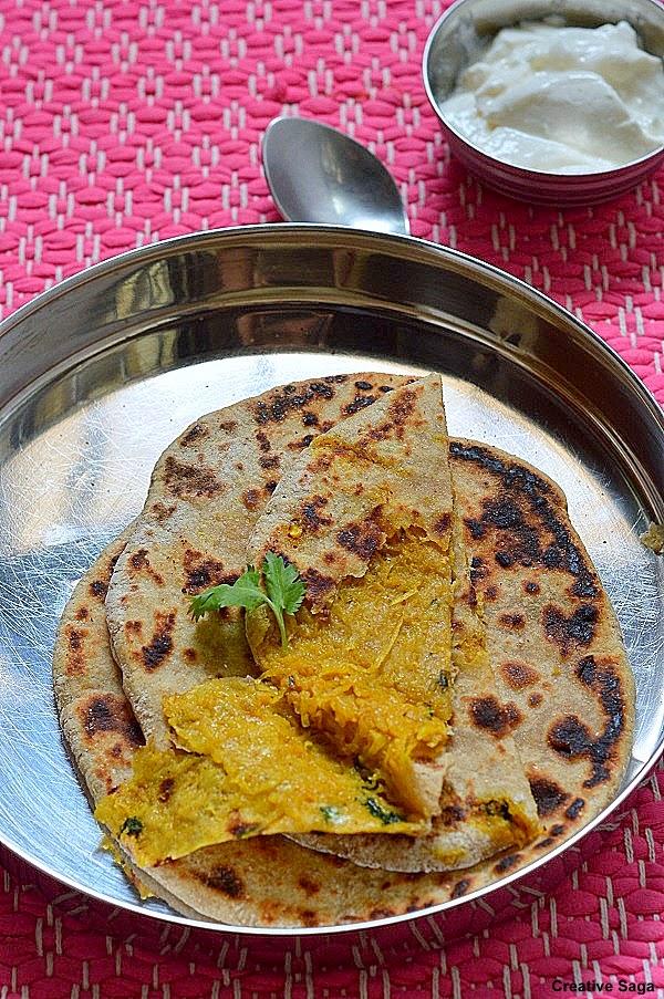 how to make mooli paratha