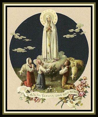 Dieses Blog ist unserer lieben Frau von Fatima gewidmet