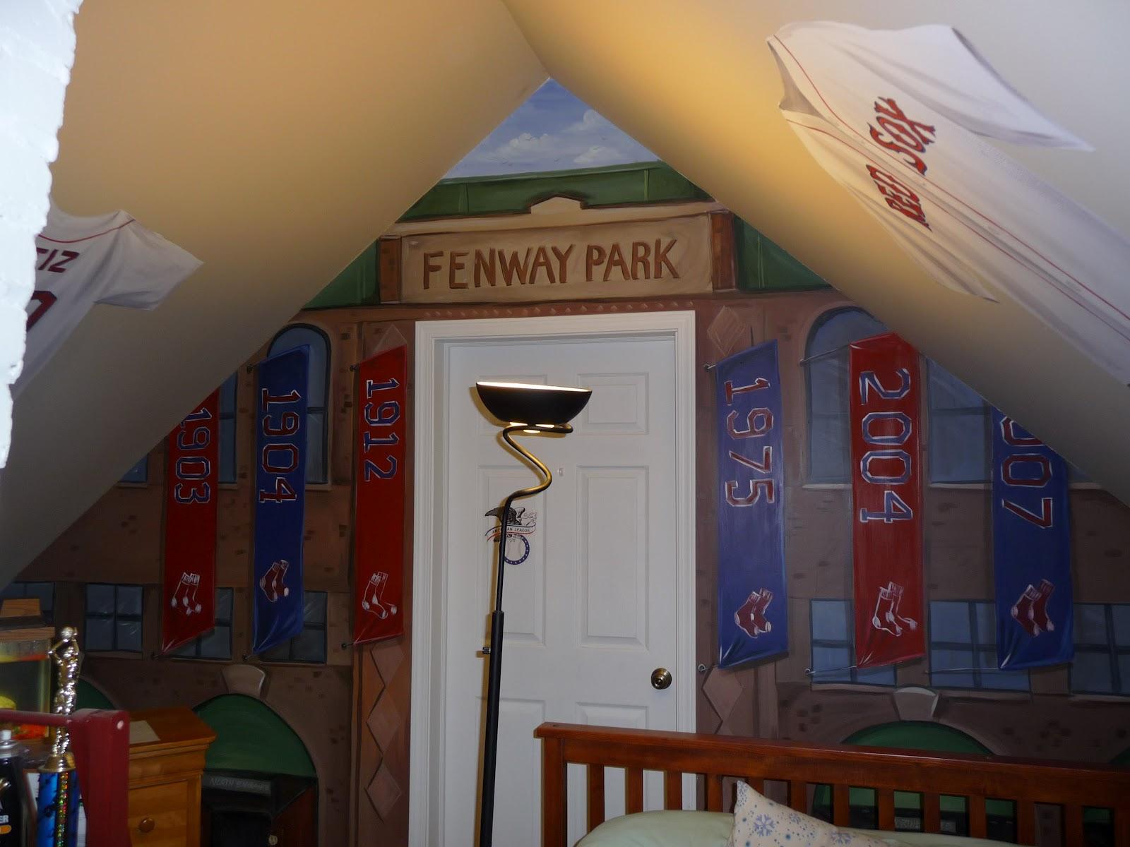 Boston Red Sox Murals
