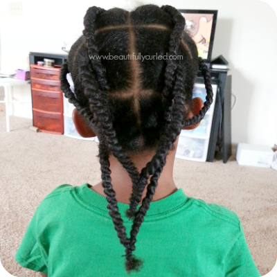 African Threaded Hair