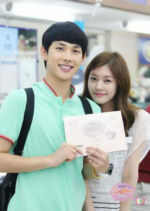 Jung So Min Boyfriend In Real Life http://simplysomin.blogspot.com/2012/07/jung-so-mins-bts-photo-with-im-siwan.html